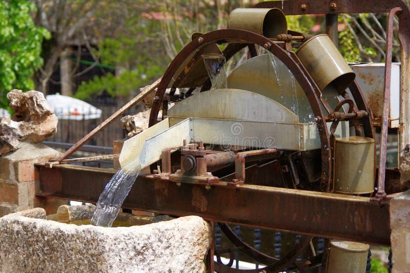 Ruota idraulica fotografia stock libera da diritti