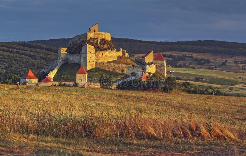 Rupea堡垒,罗马尼亚 库存照片