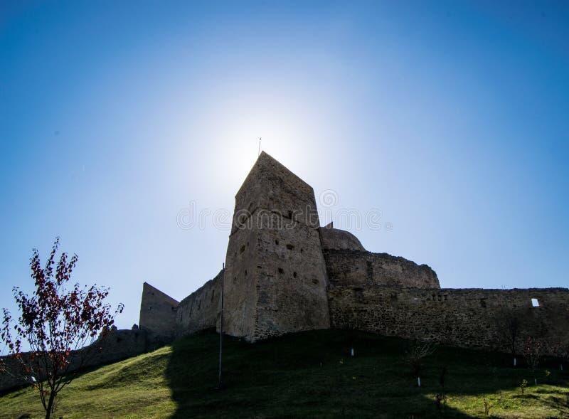 Rupea citadel royalty free stock photos
