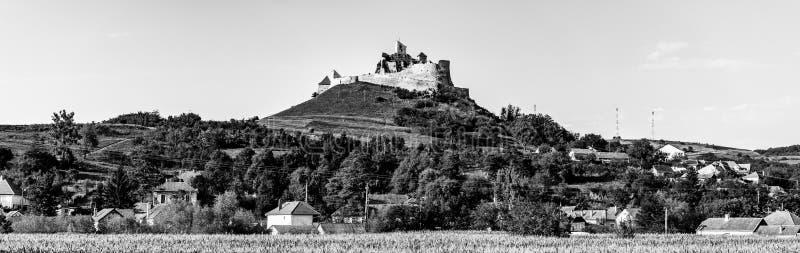 Rupea citadell i det Brasov länet, Transylvania, Rumänien arkivbild