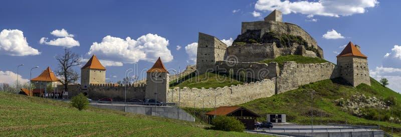 Rupea cytadela w Transylvania Rumunia zdjęcia royalty free