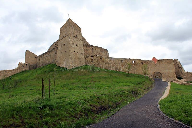 Rupea fästning royaltyfri fotografi