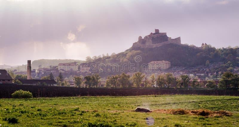 Rupea fästning fotografering för bildbyråer
