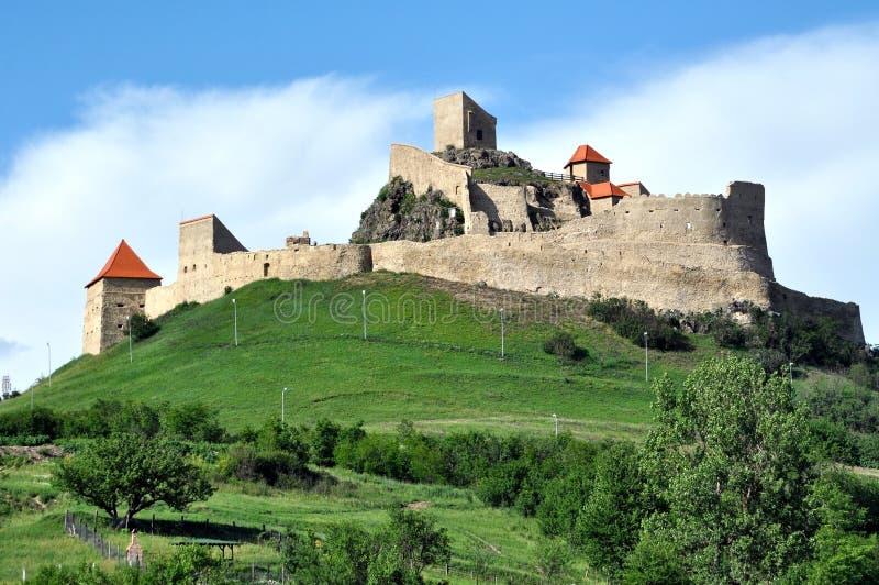 Rupea fästning, Rumänien arkivfoton