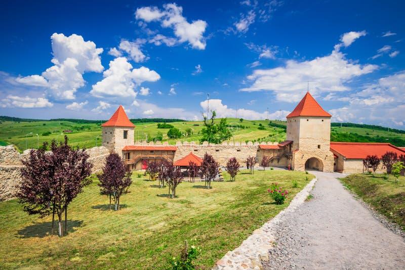 Rupea-Festung, Siebenbürgen, Rumänien lizenzfreies stockfoto