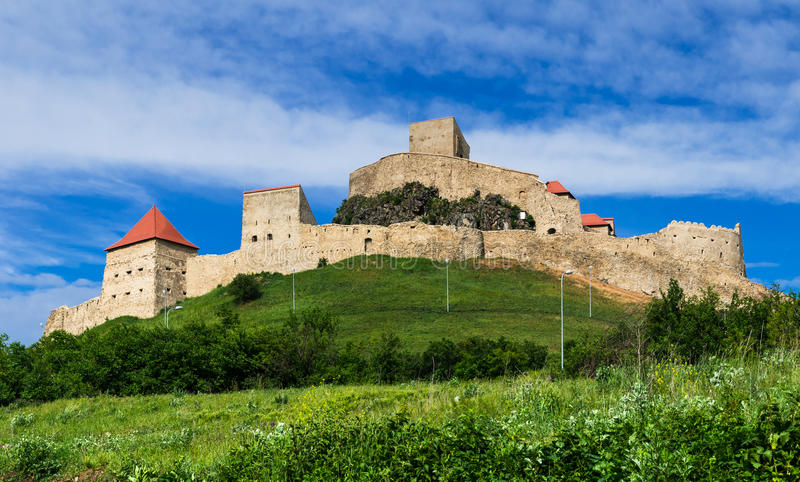 Rupea Fortress in Romania stock images