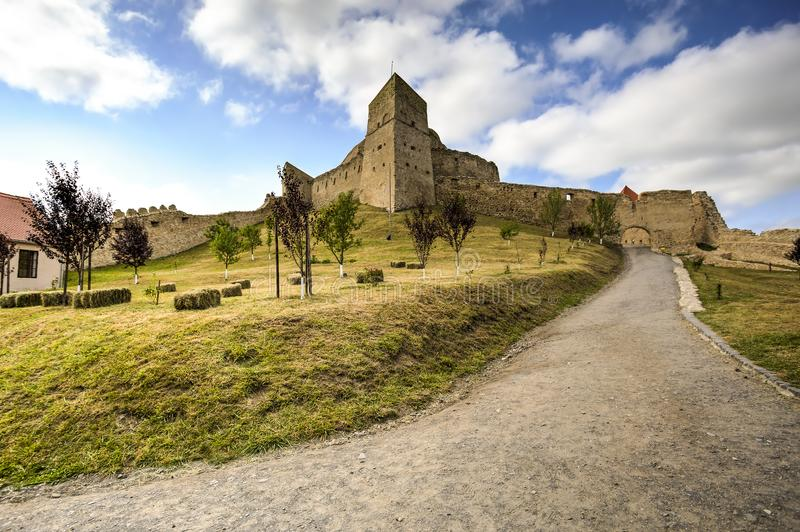 Rupea fortress, Romania royalty free stock images