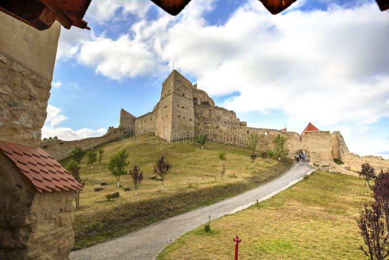 Rupea fortress, Romania royalty free stock photography