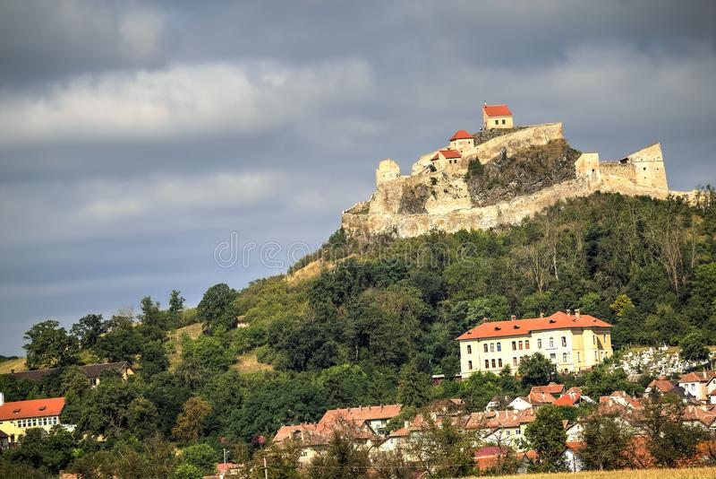 Rupea fortress, Romania stock photography