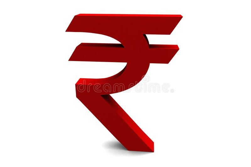 Rupee Symbol royalty free stock images