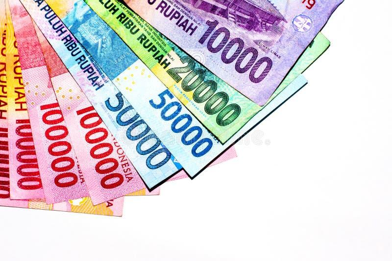 rupia del rojo del dinero foto de archivo libre de regalías