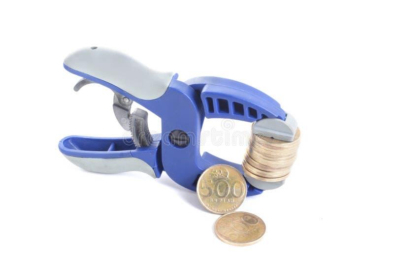 Rupiah - tight money policy concept stock photos
