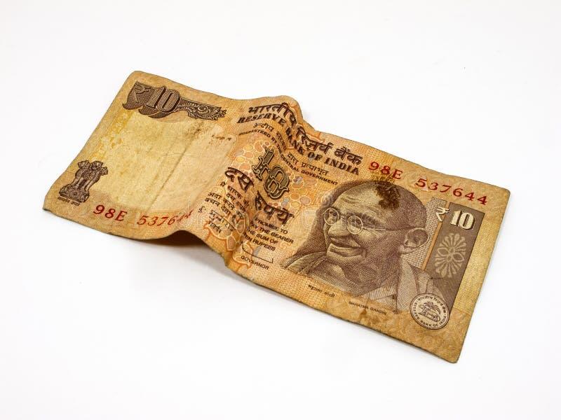 10 Rupie lizenzfreie stockfotografie