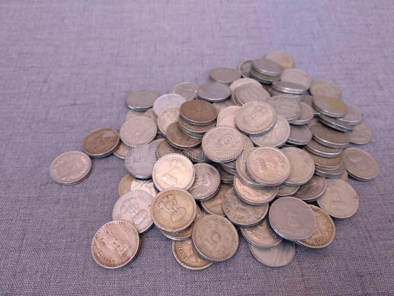 Rupie indiane di valuta fotografia stock