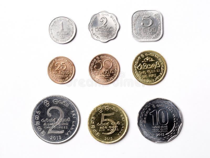 Rupie Sri Lankan lizenzfreie stockbilder