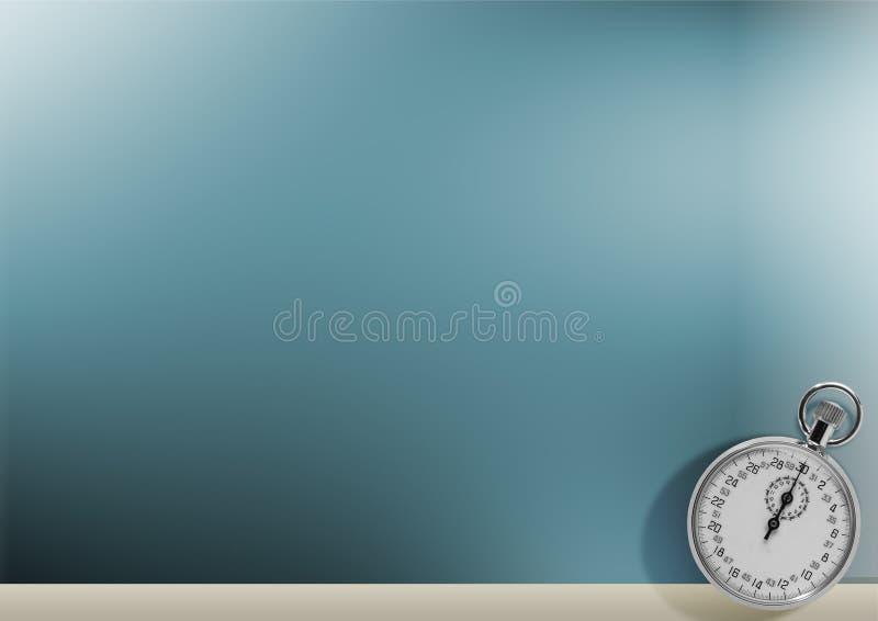 Rupteur d'allumage sur le fond bleu illustration libre de droits
