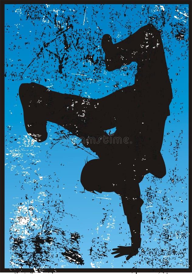 Rupteur grunge photo stock