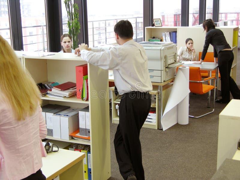 Ruptura curta no trabalho foto de stock