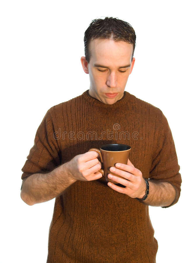 Ruptura de café do empregado foto de stock royalty free