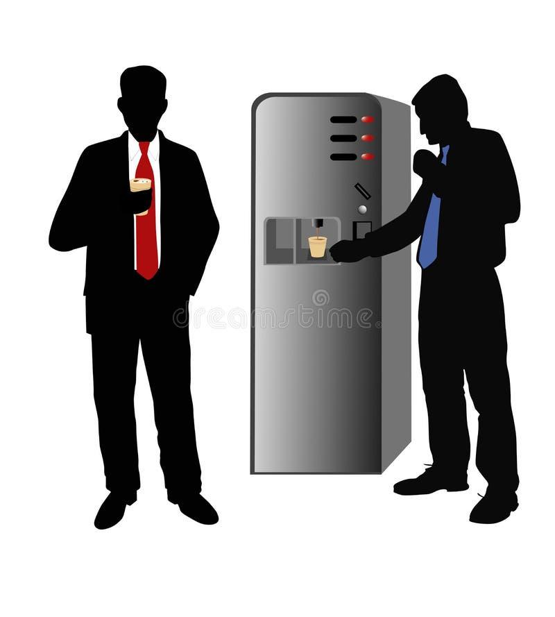 Ruptura de café do escritório ilustração do vetor
