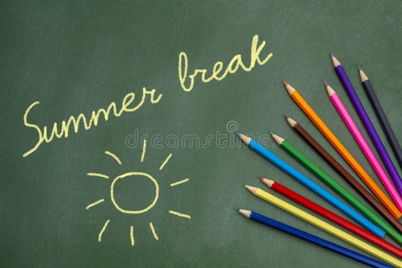 Ruptura de verão fotografia de stock