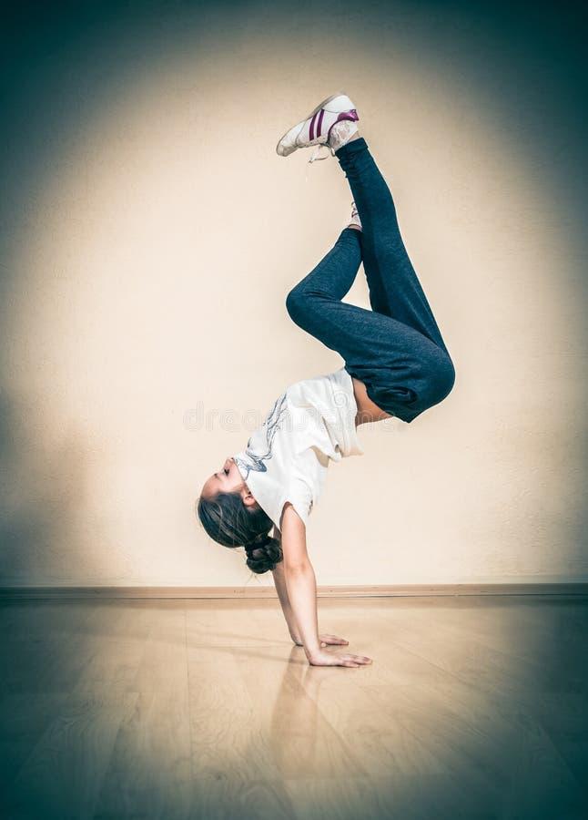 Ruptura do hip-hop ou dançarino da rua foto de stock royalty free