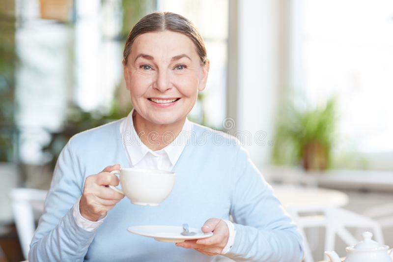 Ruptura para o chá foto de stock