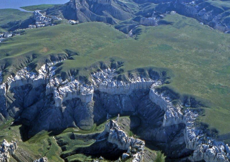Rupturas de Missouri em Montana imagens de stock