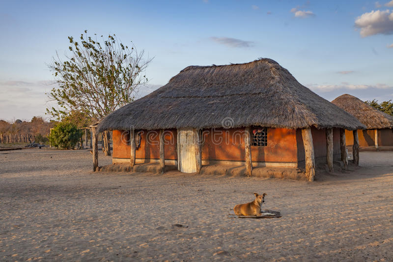 Rural African Homestead royalty free stock photos