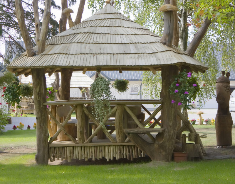 Rural Arbour Royalty Free Stock Images