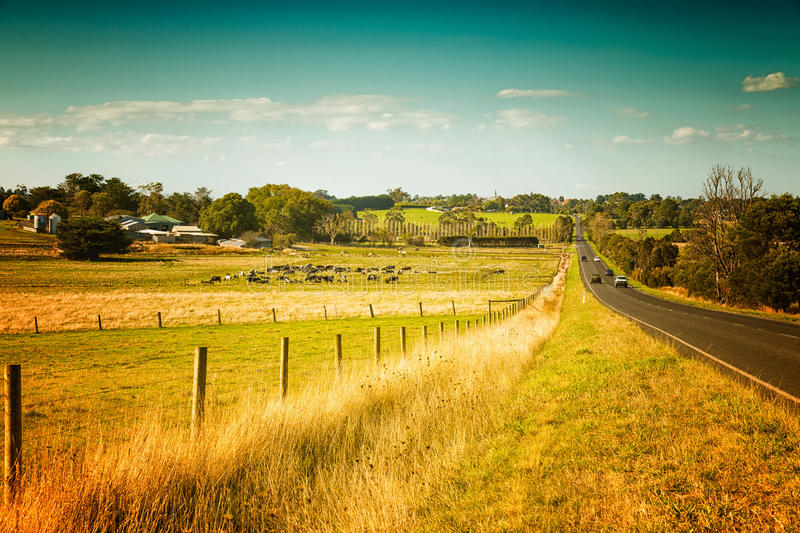Australia countryside stock photography