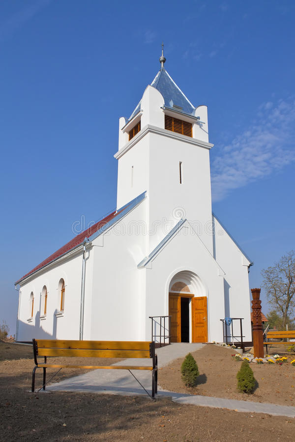 Free Rural Calvinist Church Royalty Free Stock Images - 22299049
