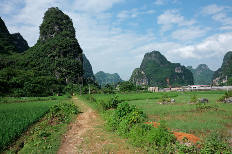 Download Rural China stock image. Image of track, cultivation - 28706577