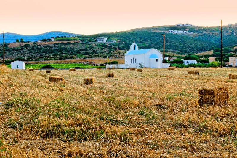 Download Rural church stock image. Image of village, fodder, sunset - 22602609