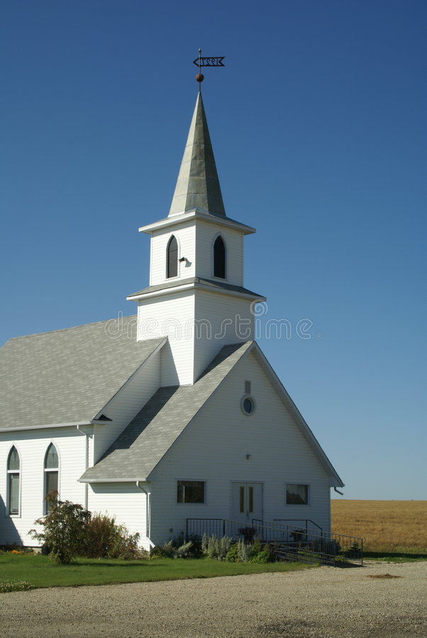 Free Rural Church Royalty Free Stock Photo - 3161395