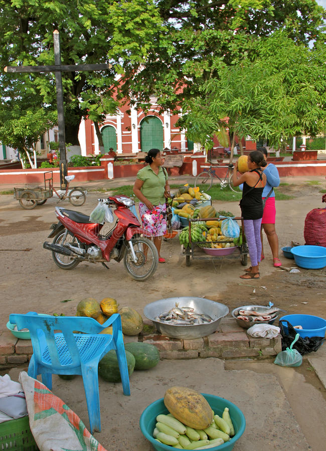 Download Rural Food Market, Mompos, Colombia Editorial Photo - Image: 26474366