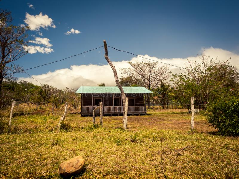 Rural house área comfort summary. Beauty in nature stock image