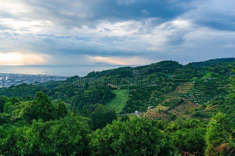 Rural Japan landscape royalty free stock photos