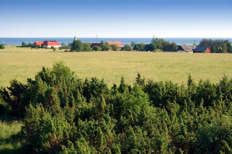Rural landscape stock photos