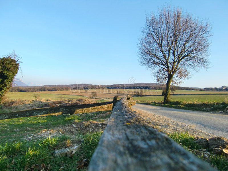 Download Rural landscape stock image. Image of peace, wall, route - 8430179