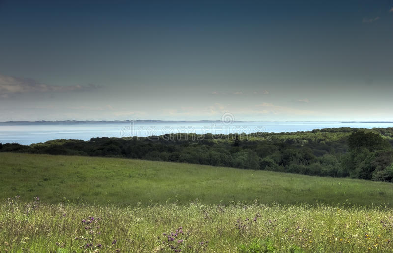 Download Rural landscape and bay stock image. Image of green, cloud - 14759735