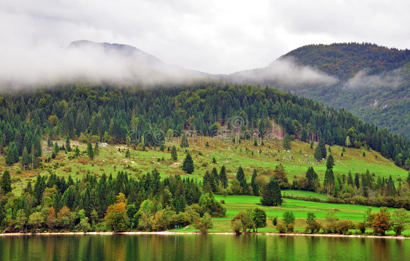 Download Rural Landscape. Bohinj Lake, Slovenia Editorial Photo - Image: 36882216