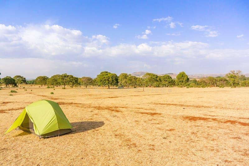 Rural landscape in Ethiopia stock photo
