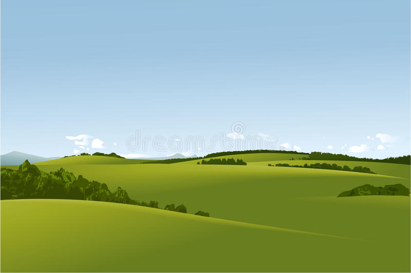 Download Rural Landscape Stock Vector - Image: 41956872