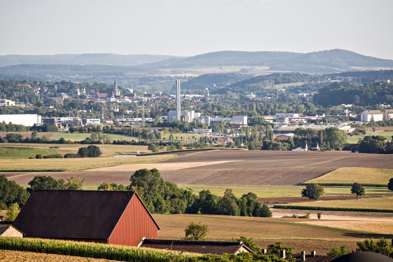 Download Rural Lansdscape Near Coburg Stock Photo - Image: 27639644