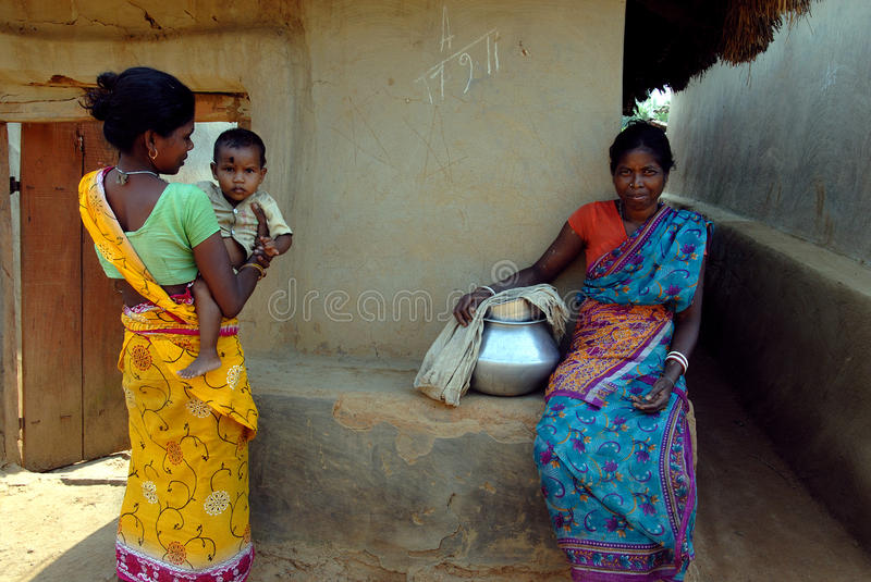 Download Rural Life in India editorial stock photo. Image of horizontal - 21856743