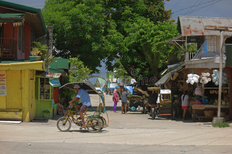 Rural life in the Philippines royalty free stock image