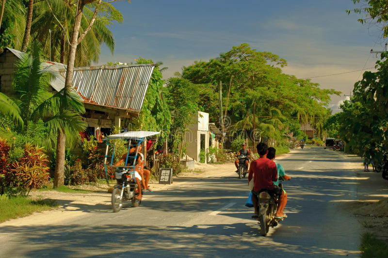 Rural life in the Philippines royalty free stock images