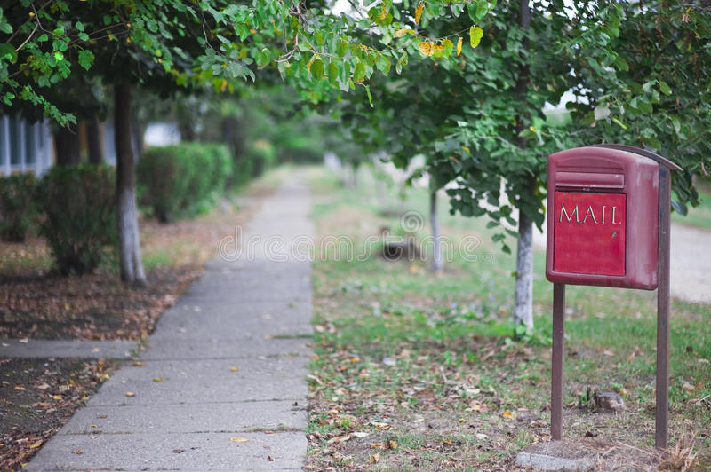 Download Rural mail post box stock photo. Image of colour, field - 16342870