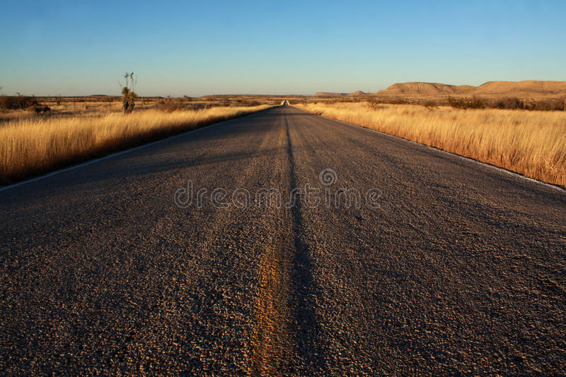 Rural New Mexico Road royalty free stock images